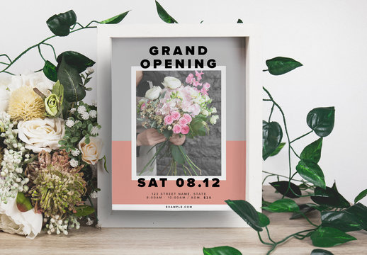 Pastel Event Flyer Layout