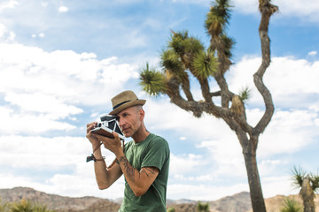 Shooting in the Desert