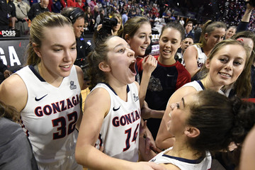 NCAA Womens Basketball: West Coast Conference Tournament-Gonzaga vs San Diego