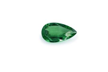 emerald and gemstone shape pear or tear