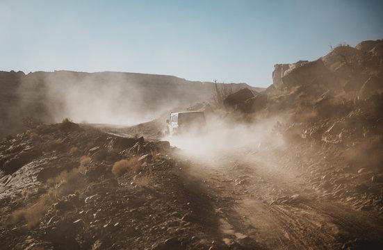 Dusty Jeep Trail