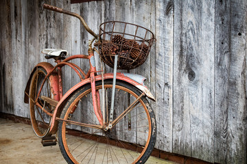 Wall Murals Bicycle Old bike