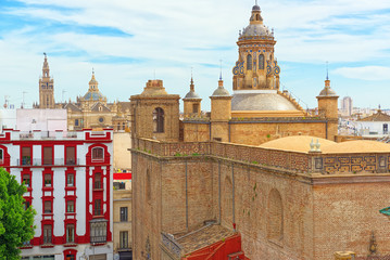 Wall Mural - Church of the Annunciation (Iglesia de la Anunciacion) view from