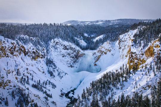 Grand Canyon of Yellowstone - Yellowstone Falls