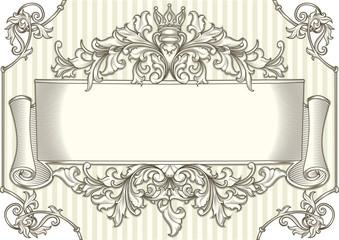 Ornate vintage decorative design