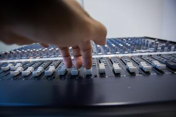 Console audio.