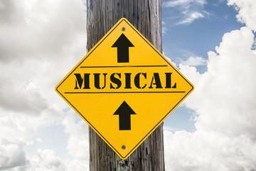 Schild 271 - Musical
