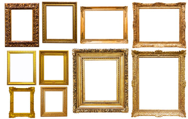 set of isolated frames