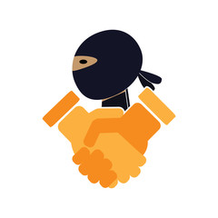 Ninja Deal Logo Icon Design