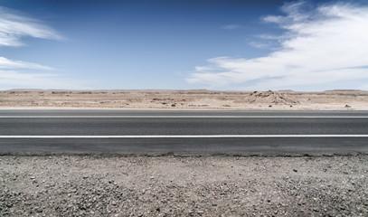 Chile Asphalt Road