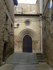 Laguardia, localidad de Álava (Pais Vasco, España) cercana a Vitoria enclavada en la comarca de la Rioja Alavesa