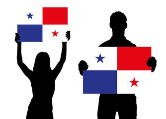 Zwei Fans - Panama
