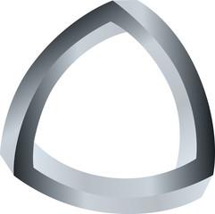 Optical Illussion Triangle