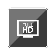 Full HD - Reflektierender App Button