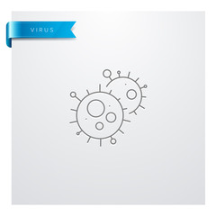 icône Médecine - Santé - Médical - Virus - Maladie