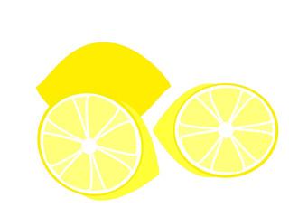 レモンのハーフカット