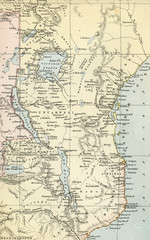 Vintage Map of Africa - Early 1800 World Maps