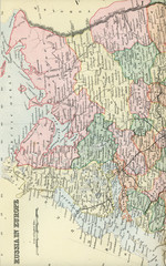 Antique Map of Russia - Early 1800 Vintage Maps of the World