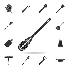 whisk icon. Detailed set icons of Media element icon. Premium quality graphic design. One of the collection icons for websites, web design, mobile app