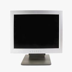 TV flat screen lcd plasma tv mock up. Black HD monitor mockup. Modern video panel black screen mock-up. Widescreen show your business presentation on flat display tv set.