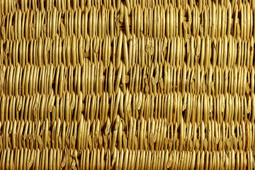 Background of braided willow branches