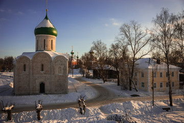 Savior Transfiguration Cathedral in Pereslavl Zalessky in the Yaroslavl Region, Russia