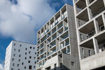Bâtiment en construction - Nantes