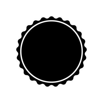 sticker, stamp, vector