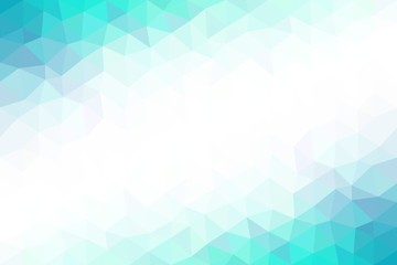 Low polygonal abstract background, vector