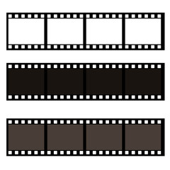 Blank film frame stock illustration. Image of frame vector illustration