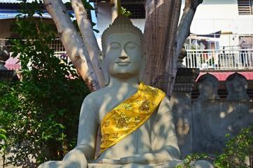 Buddha statue in Phnom Penh, Cambodia.
