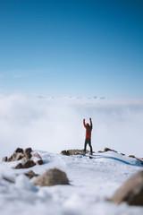 Gipfel über den Wolken