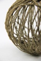 Decor at home. A ball of twine.