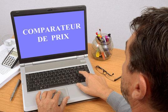 Comparateur de prix sur internet