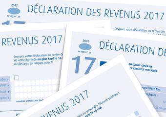 Impôts sur le revenu 2017 - Déclaration papier