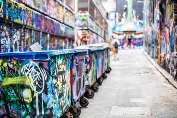 Graffiti in Melbourne Australia