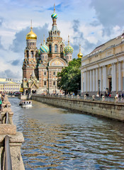 The Church of the Resurrection of Christ (Savior-on-the-Blood). St. Petersburg