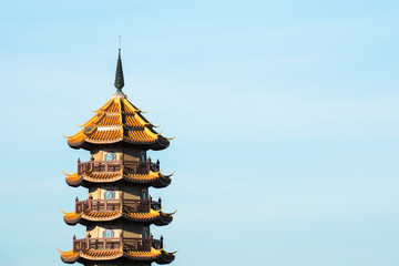 Chinese temples pagoda in Thailand