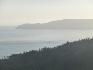 Naturaleza y paisaje en Ézaro, pueblo de Galicia  de Dumbría, en la provincia de La Coruña (España). Es la única parroquia del municipio que linda con el mar, el océano Atlántico