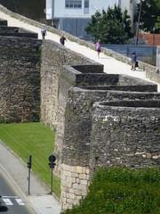 Lugo, ciudad de Galicia en España