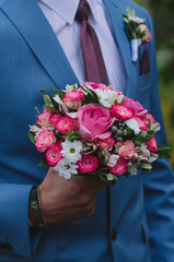 bouquet, wedding, flower, rose, flowers, pink, roses, bride, love, bridal, white, floral, marriage, celebration, bunch, beauty, decoration, arrangement, romantic, green, ceremony, groom, blossom, roma