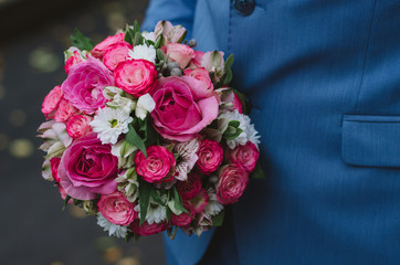 bouquet, rose, flower, roses, wedding, flowers, pink, love, red, white, bunch, floral, green, gift, bridal, decoration, nature, isolated, bride, celebration, blossom, petal, beauty, purple, anniversar