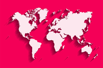 Flat world map abstract vector background for wallpaper banner see more gumiabroncs Gallery