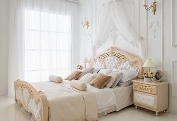 Bright comfortable bedroom