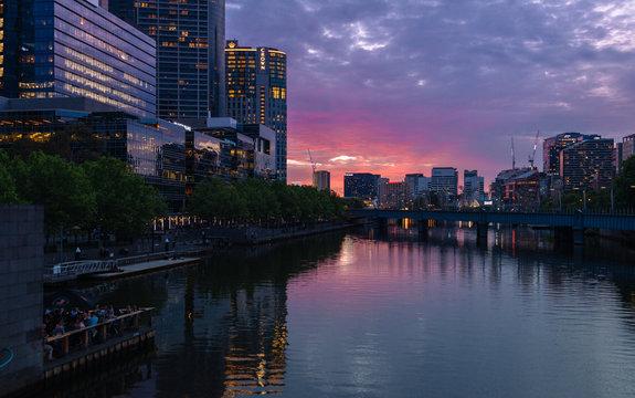 Sunset Melbourne