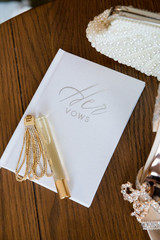 Her Vows Wedding Book