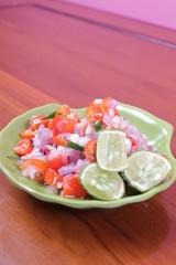 Indonesian cuisine : sambal (chili sauce)