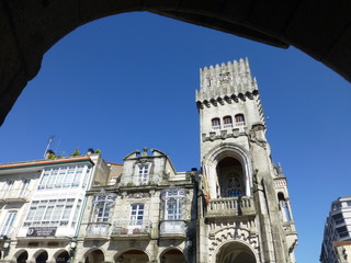 Porriño, pueblo de la provincia de Pontevedra e integrado en el Área Metropolitana de Vigo, en el noroeste de España