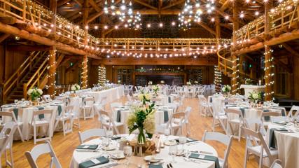 Wedding Centerpieces at Reception
