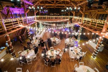 Wedding Reception Dancing Long Exposure